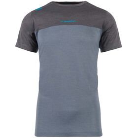 La Sportiva Crunch T-paita Miehet, slate/carbon